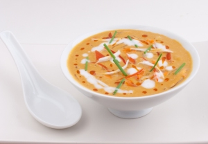 Creamy Red Bell Pepper Chipotle Soup